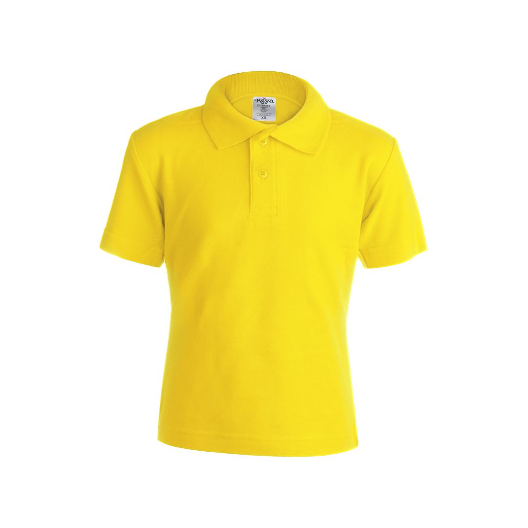 Polo infantil color