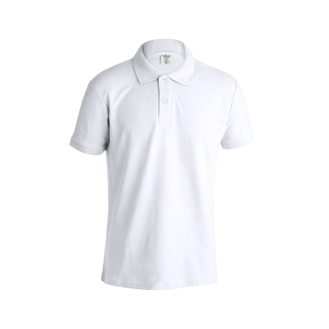 Polo adulto blanco