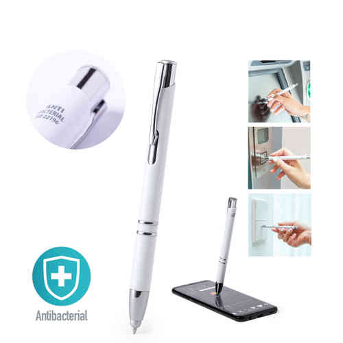 Antibacterial Stylus Touch Ball Pen Topen